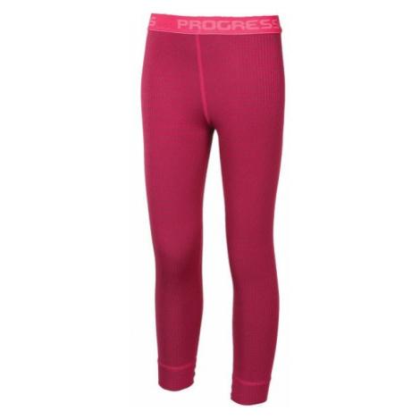Progress MS SDND rosa - Lange Kinder Unterhose