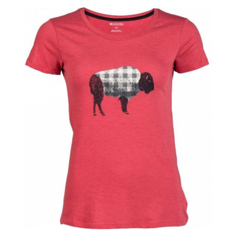 Columbia OUTER BOUNDS SS TEE rosa - Damen T-Shirt