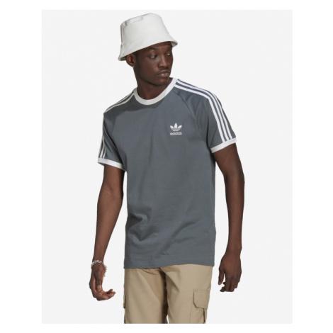 adidas Originals Adicolor Classics 3-Stripes T-Shirt Blau Grau