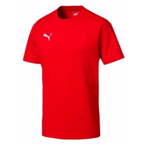 Puma LIGA CASUALS TEE rot - Herren T-Shirt
