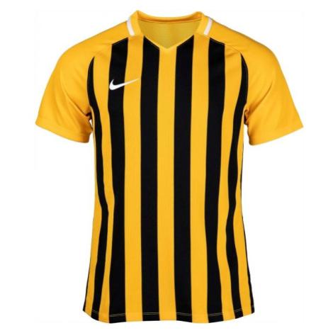 Nike STRIPED DIVISION III JSY SS gelb - Herren Fußballtrikot