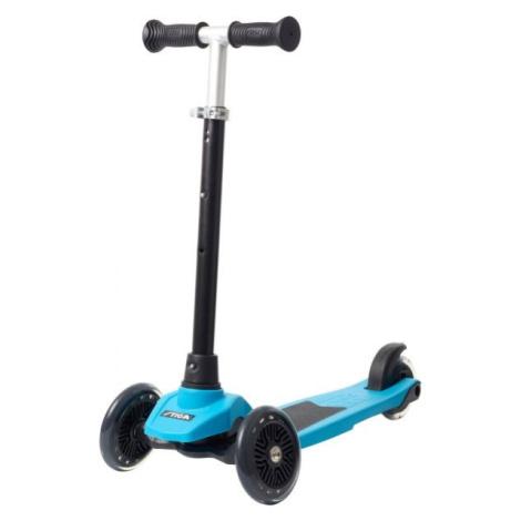 Blaue fahrräder und roller