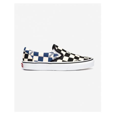 Vans Classic Slip On Schwarz Blau Weiß