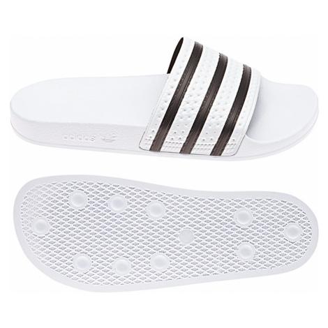Adidas Originals Badelatschen ADILETTE 280648 Weiß Schwarz