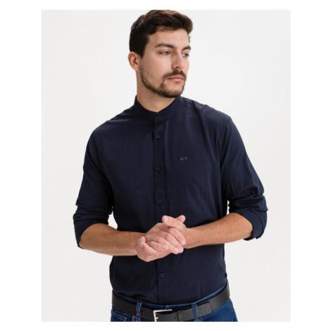 Armani Exchange Hemd Blau