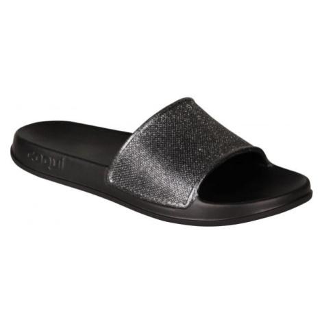 Coqui TORA grau - Damen Pantoffeln
