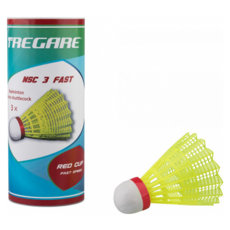 Tregare NSCW 3 FAST YELLOW - Badminton-Federbälle