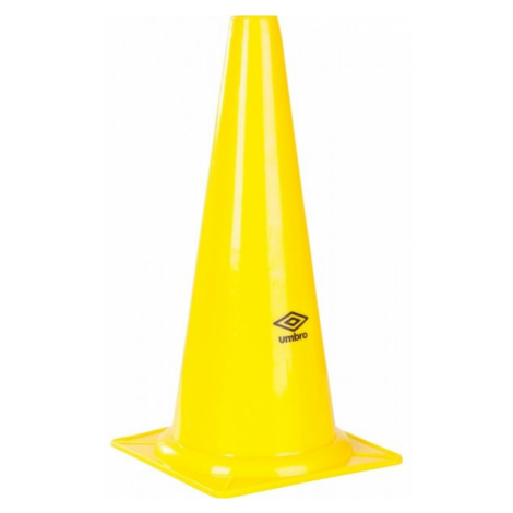 Umbro COLOURED CONES - 37,5cm gelb - Kegel