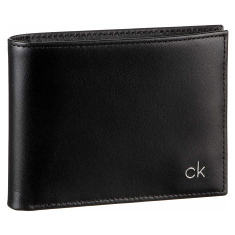 Calvin Klein Geldbörse Smooth CK 5CC Coin Wallet Black (0.3 Liter)