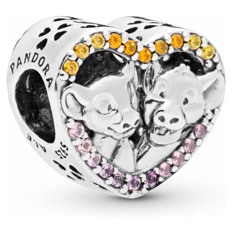 Pandora 798044NPRMX Charm Simba & Nala