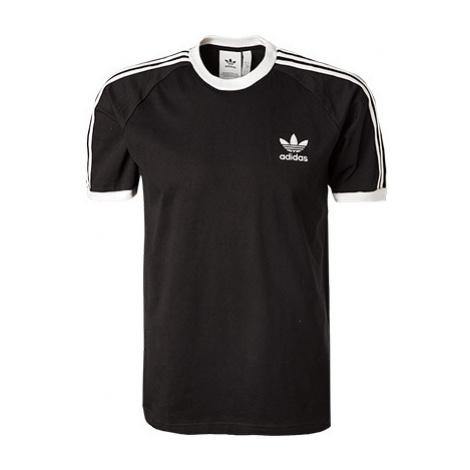 Adidas ORIGINALS 3 Stripes T-Shirt black CW1202