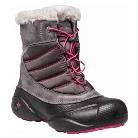 Columbia YOUTH ROPE TOW JUNIOR rosa - Kinder Winterschuhe