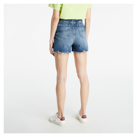 Tommy Jeans Mom Short Mid Blue Tommy Hilfiger