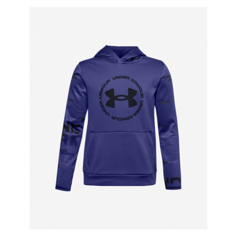 Under Armour Amour Fleece Sweatshirt Kinder Blau Lila