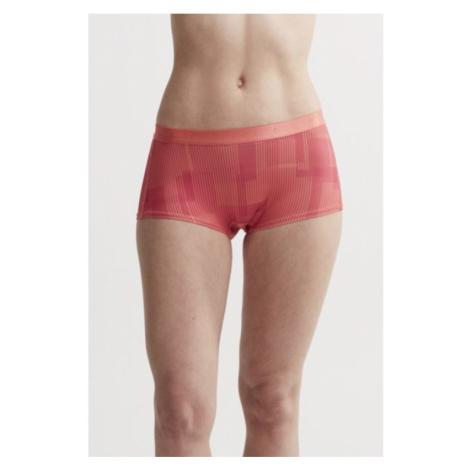 Boxershorts CRAFT Erhabenheit Taille 1906044-137734 - Orange mit Druck