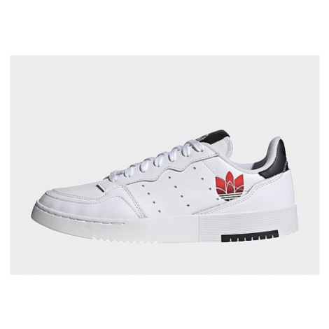 Adidas Originals Supercourt Schuh - Cloud White / Scarlet / Core Black - Damen, Cloud White / Sc