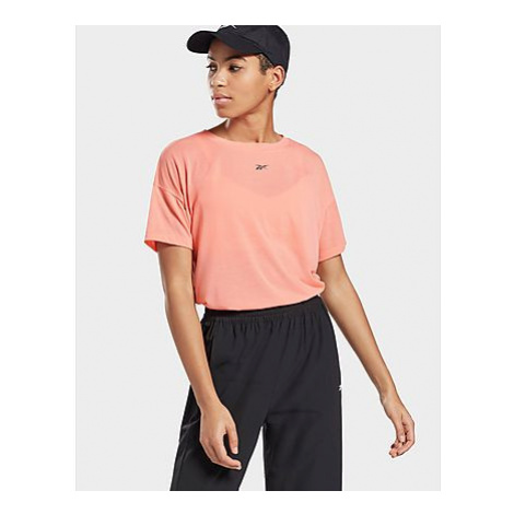 Reebok workout ready supremium t-shirt - Twisted Coral - Damen, Twisted Coral