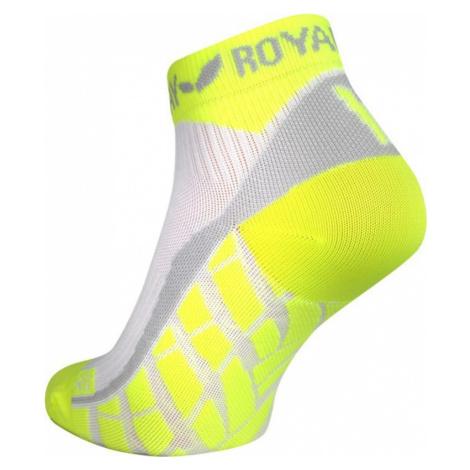 Socken ROYAL BAY® Air Low-Cut weiß/gelb 0188