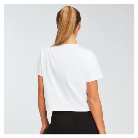 MP Damen Essentials Crop T-Shirt - Weiß