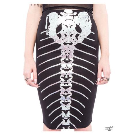 Damen Rock IRON FIST - Bone Deep Pencil - Black - IFW004314