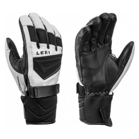 Handschuhe LEKI Griffin S 649809304 weiß / schwarz / graphit