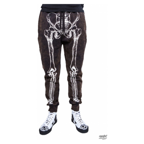 Herren Hose (Trainingshose) IRON FIST - Wishbone Sweatpants - Black - IFM003732 XXL