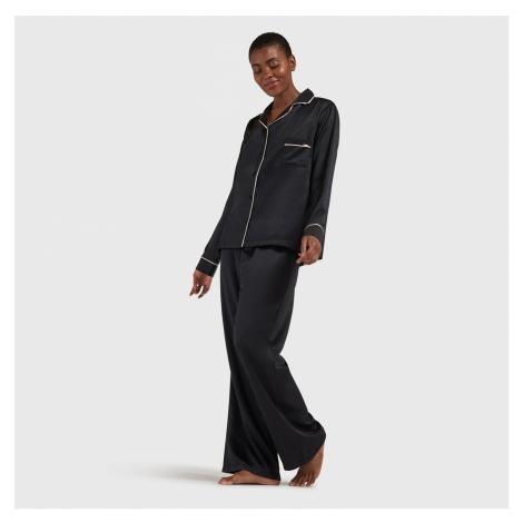 Schwarze pyjamas, nachthemden und morgenmäntel für damen