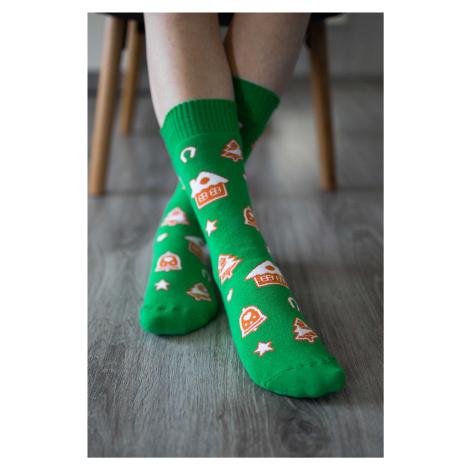 Winter Barfuß-Socken - Lebkuchen 43-46