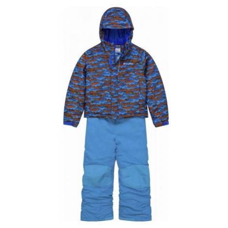 Columbia BUGA SNOW SET blau - Winterkombination für Kinder