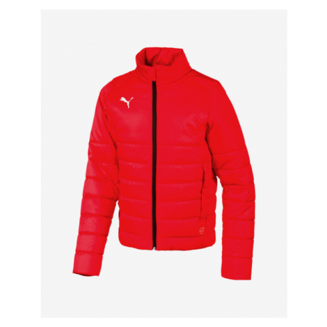 Puma Liga Casuals Kids Jacket Rot mehrfarben
