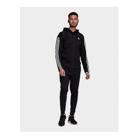 Adidas Sportswear Ribbed Insert Trainingsanzug - Black - Herren, Black