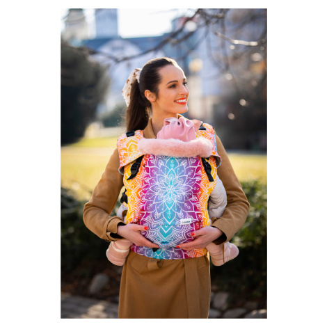 Babytrage Be Lenka Mini - Mandala - Night Klassiker ohne die Möglichkeit der Überquerung