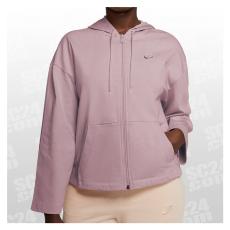 Nike Sportswear Essential FZ Hoodie Women rosa Größe XS