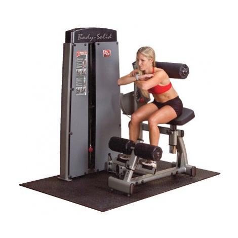 """Body-Solid Bauch- und Rückenmaschine """"Pro Dual"""", Gewichtsblock 140 kg"""