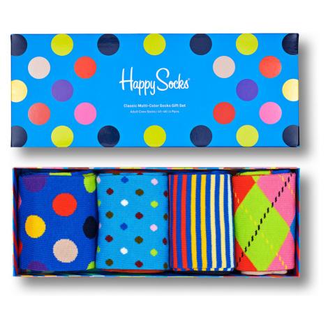 Happy Socks Geschenkbox CLASSIC MULTI-COLOR SOCKS GIFT SET 4-PACK XCMC09-0200 Mehrfarbig