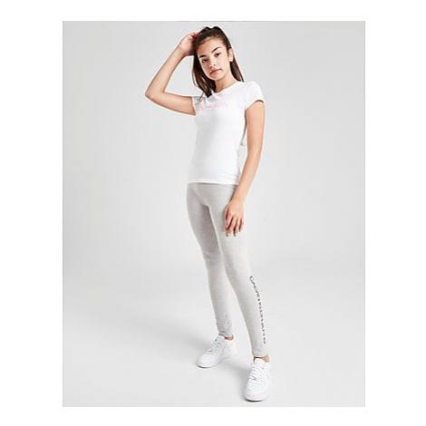 Calvin Klein Girls' Institutional Logo Slim T-Shirt Kinder