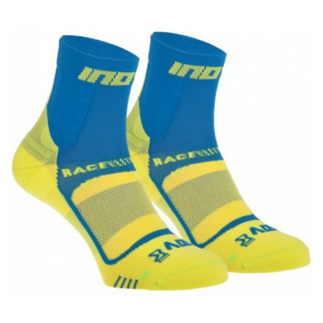 Socken Inov-8 RACE ELITE PRO SOCK 000847-BLYW-01 blue mit gelb