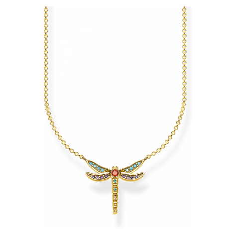Thomas Sabo KE1837-974-7-L45v Damen-Halskette Libelle klein