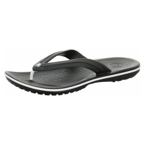 Unisex Crocs Zehentrenner schwarz Crocband Flip
