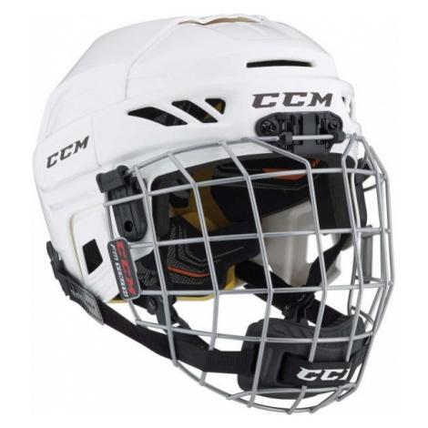 CCM FITLITE 3DS COMBO YT weiß - Eishockeyhelm für Kinder