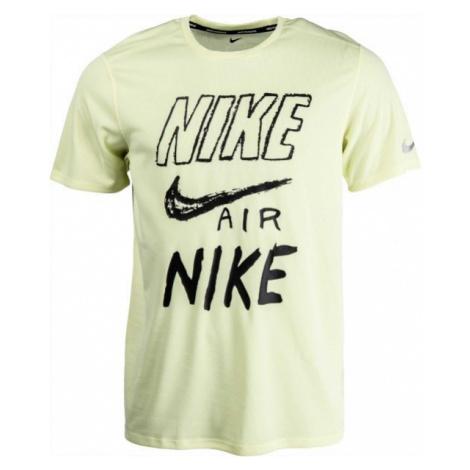 Nike BRTHE RUN TOP SS GX grün - Herren T-Shirt