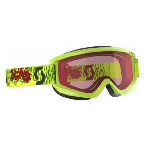 Scott AGENT JR gelb - Kinder Skibrille