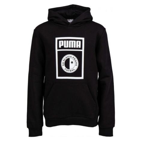 Puma SLAVIA PRAGUE GRAPHIC TEE JR schwarz - Sweatshirt für Kinder