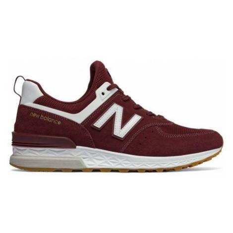 New Balance MS574FCW rot - Herren Sneaker