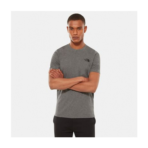 The North Face Simple Dome T-shirt Für Herren Tnf Medium Grey Heather