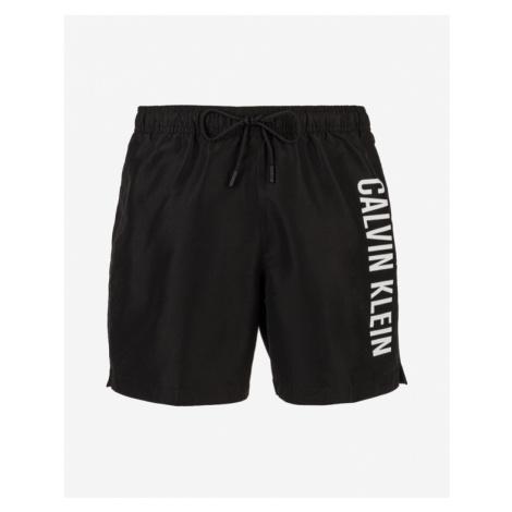 Calvin Klein Medium Drawstring Bikini Schwarz