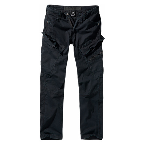 Brandit Cargohose ADVEN SLIM FIT CARGO PANTS BD9470 Black