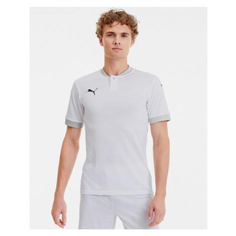Puma teamFinal 21 Polo T-Shirt Weiß