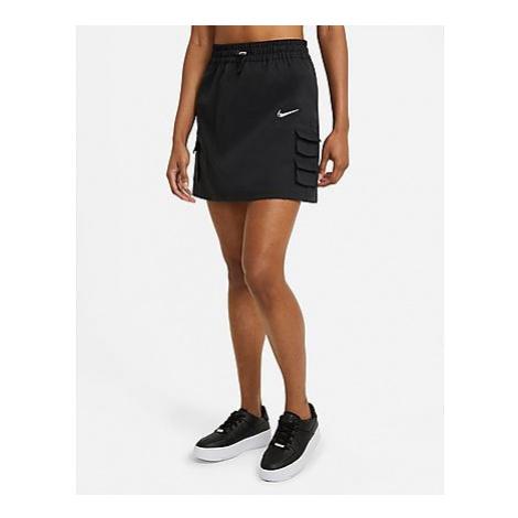 Nike Nike Sportswear Swoosh Damenrock - Black - Damen, Black