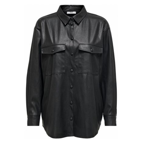 ONLY Oversize Hemd Damen Schwarz